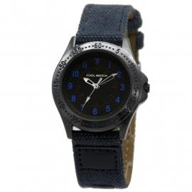 Cool Wacht CW.256 Jongens Horloge Bolk Blauw Canvas