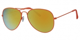 Aviator Zonnebril Neon Orange