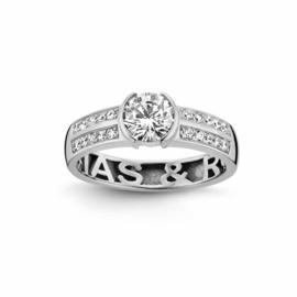 Nomelli Gioia-Fiaba Ring van Zilver
