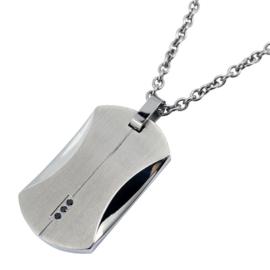 Steel & Stones Graveer Kettinghanger - XS4M-08H