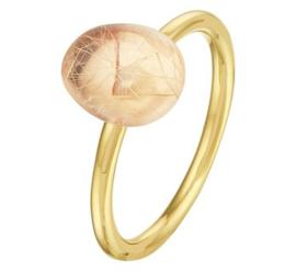 Gouden Dames Ring Rutiel Steen