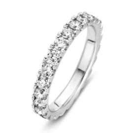 Excellent Jewelry Brede Witgouden Ring met Briljanten 1,50 crt.