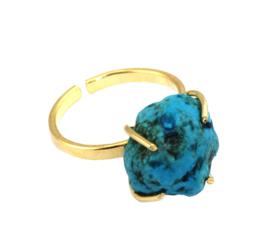 Ring met Turquoise Edelsteen van Sujasa