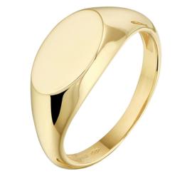Gouden Zegelring voor Dames | Kies je eigen letter(s)