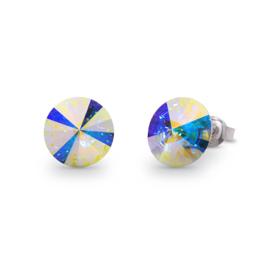 Candy Oorstekers met Gekleurd Swarovski Kristal