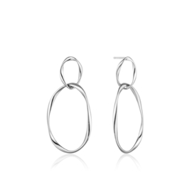 Swirl Nexus Earrings van Ania Haie