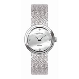 Prisma Dolce Steel Dames Horloge – Zilverkleur