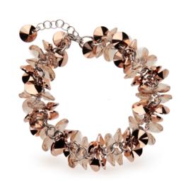 Frou Frou Beige Swarovski Armband van Spark Jewelry
