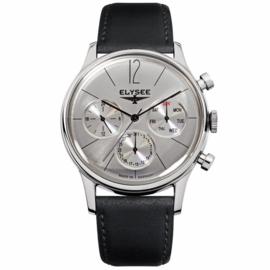 Elysee Zilverkleurig Classic Heren Horloge