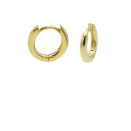 Goudkleurige Oorringen 10mm | Karma Jewelry