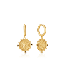 Victory Goddess Mini Hoop Earrings van Ania Haie