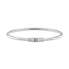 Tommy Hilfiger Zilverkleurige Dames Armband met Kopstuk TJ2780249