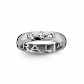 Nomelli Gioia-Promessa Pietra Ring van Zilver