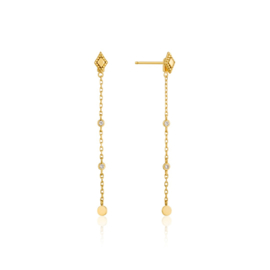 Goudkleurige Bohemia Drop Earrings van Ania Haie