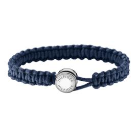 Blauwe Touw Armband van Tommy Hilfiger TJ2700947