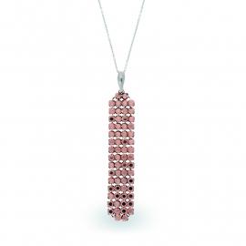 Roségoudkleurige Swarovski Ketting van Spark Jewelry