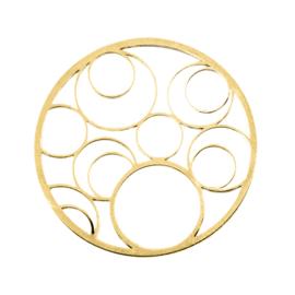 Goudkleurige Cover Munt met Open Cirkels van MY iMenso