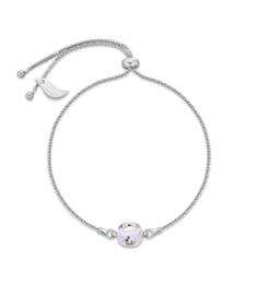 Glaskristal Armband van Spark Jewelry met Lila Glaskristal