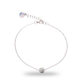 Gekleurde Pavé Swarovski Armband van Spark Jewelry
