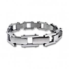 Massief schakel armband voor mannen