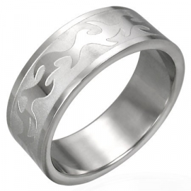 Tribal band ring / Ring graveren mogelijk! SKU3851