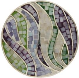 Cirkel mozaïek-munt van MY iMenso 24-0924