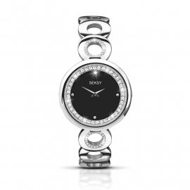 Sekonda Edelstalen Horloge Met Strass 2077