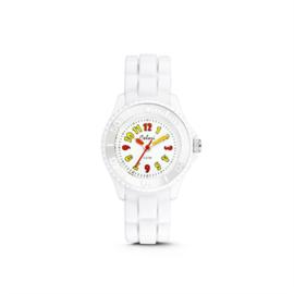 Wit KIDZ Horloge met Cartoony Cijfers van Colori Junior