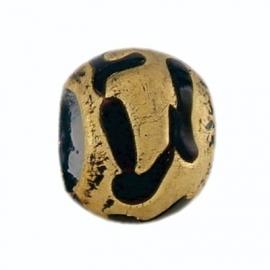 Zwart met Gouden Murano Bedel van BE iMenso 32/30