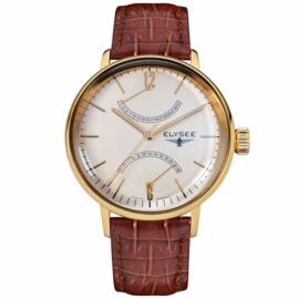 Goudkleurig Sithon Heren Horloge van Elysee