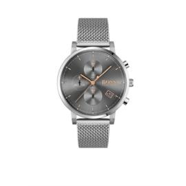 Hugo Boss Horloge Integrity Zilverkleurig Horloge met Milanese Band van Boss