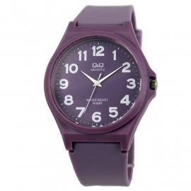 Q&Q Horloge in de kleur paars