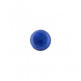 Blue Line Agate Edelsteen Insignia Munt van 14mm