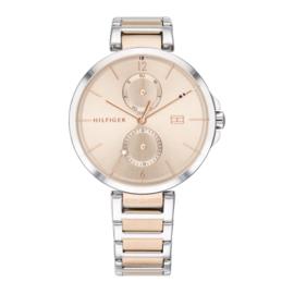 Tommy Hilfiger Zilverkleurig Dames Design Horloge