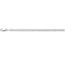 Zilveren Armband Geslepen Gourmet 3,0 mm | Lengte 18 cm