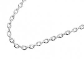 Zilveren collier 80 cm ZCF01