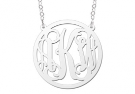 Names4ever Monogram Hanger + Ketting ZMH013