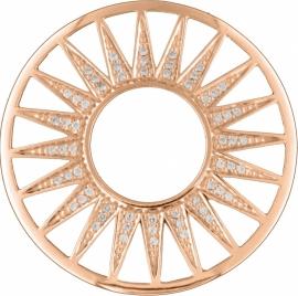 Rosé Zirkonia Zonnestralen Fusion Munt