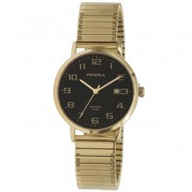 Prisma Horloge 1755 Heren Edelstaal IPG Rekband met Datum