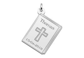 Names4ever Communiehanger met Kruis en Gravure