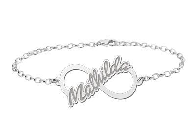 Names4ever Mathilda Model Infinity Armband > Names4ever