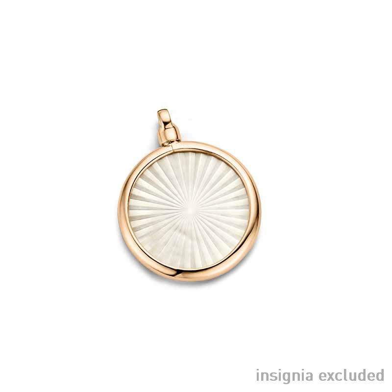 Roségouden 24mm Medaillon van MY iMenso Gold