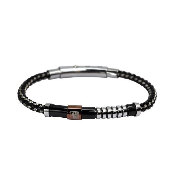 Industrial Anmo Bracelet met Leer van XS4M