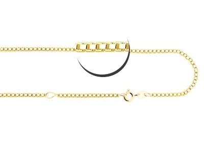 Gouden ketting 45-50 cm Names4ever GCV02