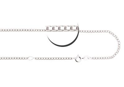 Names4ever Zilveren ketting 45-50 cm ZCV02