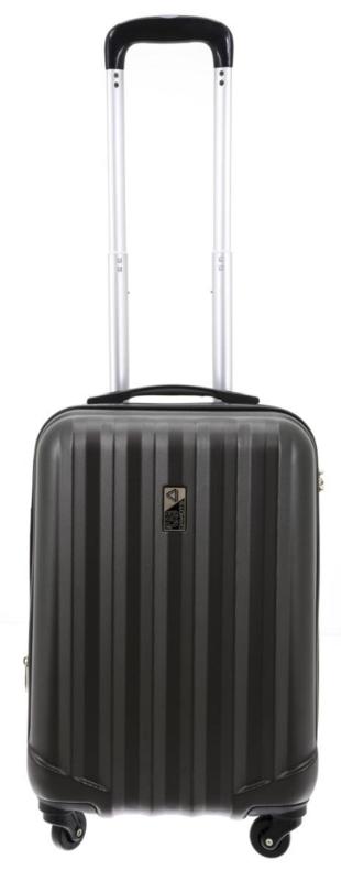 Donkergrijze Medium ABS Cabin Case van Davidts