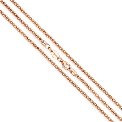 Medaillon collier van MY iMenso / Roségoudkleurig coating 27-0025