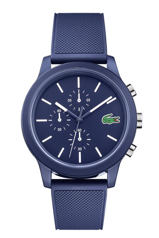 Lacoste Blauw Heren Horloge met Blauwe Horlogeband