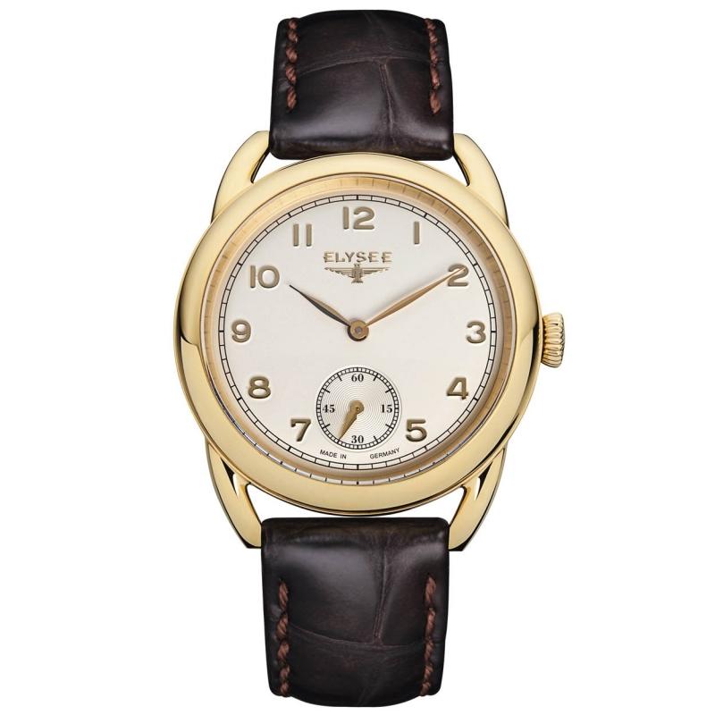 Elysee Dames EL.80542 Vintage Horloge Edelstaal Saffierglas