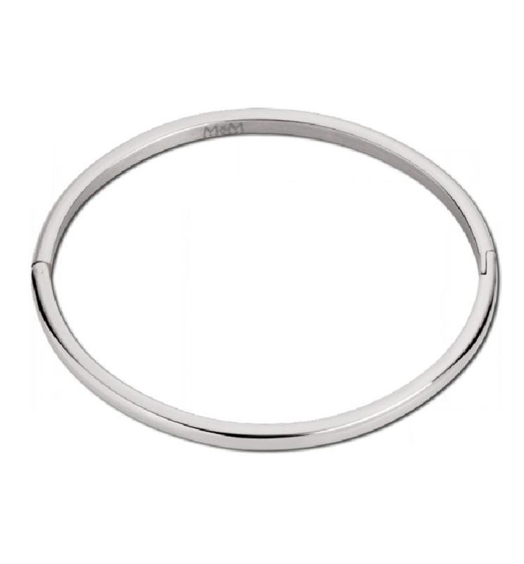 Zilverkleurige Bangle Armband van M&M